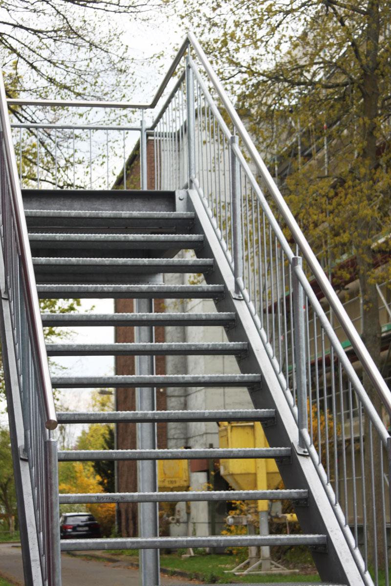 Projekte Stahltreppen Metallbau Senge